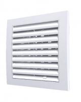 1515RRP10F, Решетка вентиляционная регулируемая 150х150 с фланцем D100