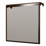 3 ДМЭР кор, Декоративный металлический экран на радиатор 3-х секционный, коричневый