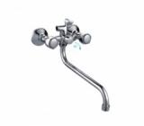 Смеситель для ванны FRAP H09  Хром